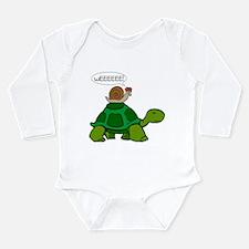 Snail on Turtle Body Suit