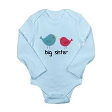 Big Sister Birds Body Suit