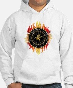 Hunger Games Tick Tock Flames Hoodie