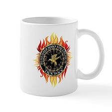 Hunger Games Tick Tock Flames Mug