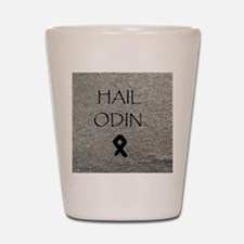 Hail Odin Shot Glass