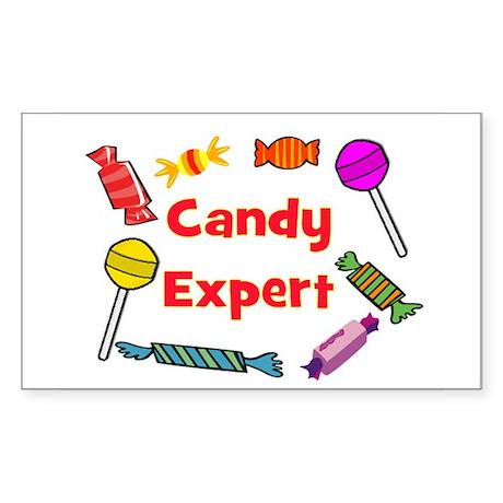 CANDY EXPERT Sticker (Rectangle)