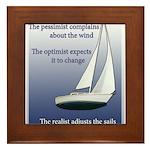 sailing.png Framed Tile