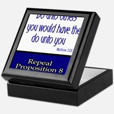 Repeal Prop 8 Keepsake Box