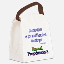 Repeal Prop 8 RBL Canvas Lunch Bag