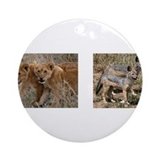 Pups and cubs Ornament (Round)