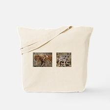 Pups and cubs Tote Bag