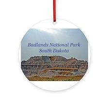 badlandscover.png Ornament (Round)