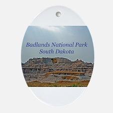 badlandscover.png Ornament (Oval)