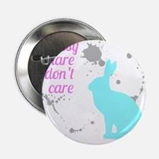 "Messy hare don't care 2.25"" Button (10 pack)"