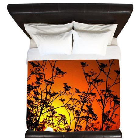 Australian Sunset King Duvet