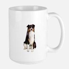 Aussie Shep (Tri3) Large Mug