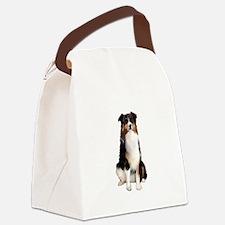 Aussie Shep (Tri3) Canvas Lunch Bag