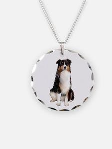 Aussie Shep (Tri3) Necklace