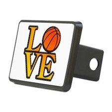 basketball love Hitch Cover