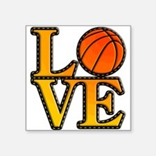 basketball love Sticker