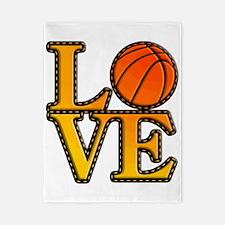 basketball love Twin Duvet