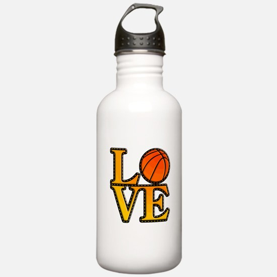 basketball love Water Bottle