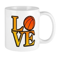 basketball love Mugs
