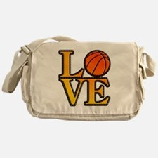 basketball love Messenger Bag