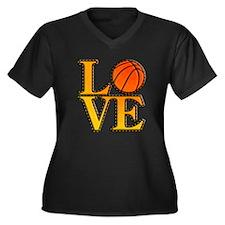 basketball love Plus Size T-Shirt