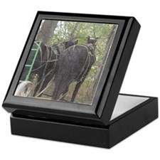 Percheron Team Keepsake Box