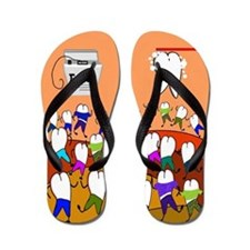dental ff 3 Flip Flops