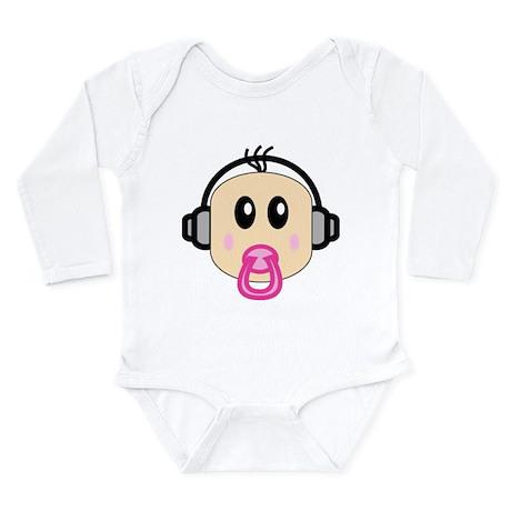 DJ baby Long Sleeve Infant Bodysuit