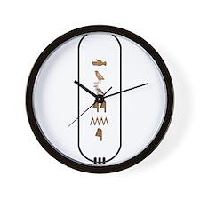 "Dwayne in Hieroglyphics ""Colo Wall Clock"