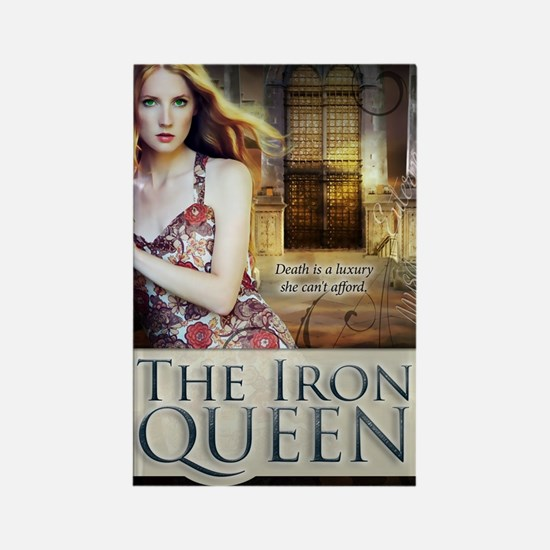 The Iron Queen Rectangle Magnet