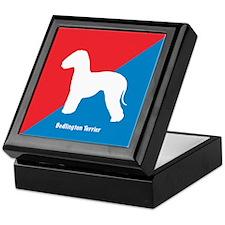 Bedlington Diagonal Keepsake Box