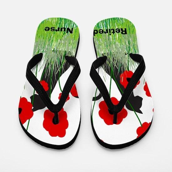 Retired Nurse Ff Flip Flops