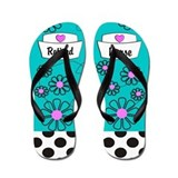 Nurse retirement Flip Flops