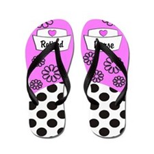 Retired Nurse FF 2 Flip Flops