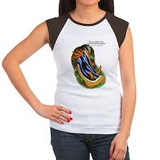 Elizabeth's Chromodoris Women's Cap Sleeve T-Shirt