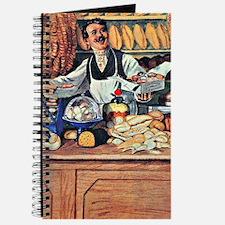 Kustodiev - Baker, Boris Kustodiev paintin Journal