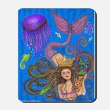 Mermaid & Mercat diva & Cat Mousepad