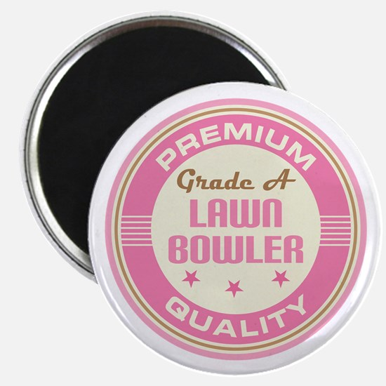 Premium quality Lawn bowler Magnet