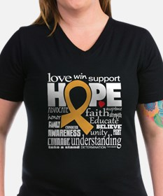 Childhood Cancer Words Shirt