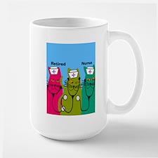 retired nurse ff 7 Mugs