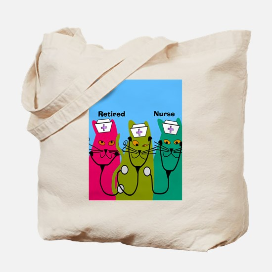 retired nurse ff 7 Tote Bag