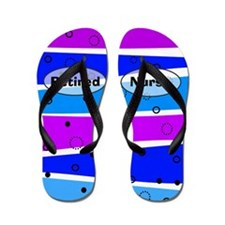 retired nurse ff 5 Flip Flops