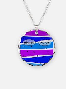 retired nurse ff 5 Necklace