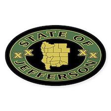 XX State of Jefferson XX Decal