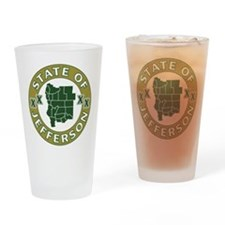 XX State of Jefferson XX Drinking Glass