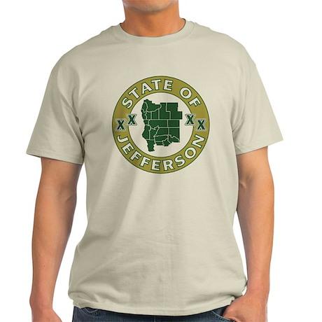 XX State of Jefferson XX Light T-Shirt
