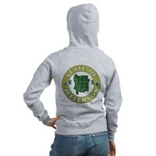 XX State of Jefferson XX Zipped Hoody