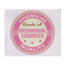 Premium quality Mechanical engineer Throw Blanket