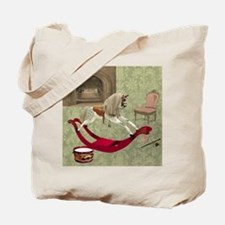 Victorian nursery Tote Bag