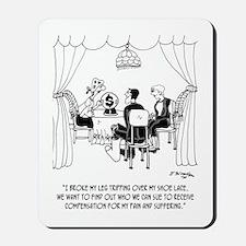 Fortune Teller to Plaintiffs Mousepad